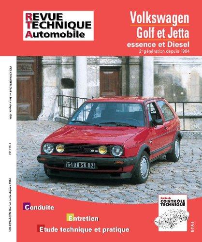 revue technique 719.1 Volkswagen  Golf et Jetta II E-d et Td (84-92)
