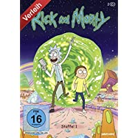 Rick and Morty - Staffel 1 - Doppel DVD