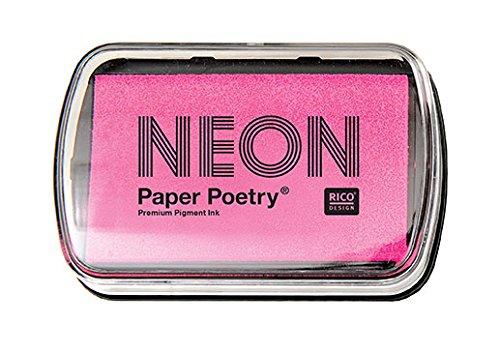 Rico Design Neon Tinte Pad Fuchsia Pink - Neon Pink Design