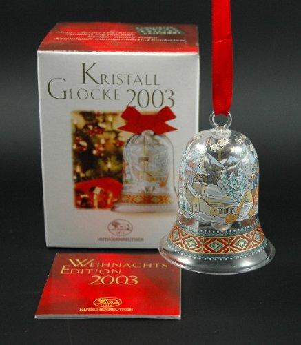 Hutschenreuther Kristall Glocke 2003*Rarität*Neu, Kristallglocke, Glasglocke, Weihnachten, Weihnachtsglocke, Anhänger, Baumanhänger, Baumschmuck -