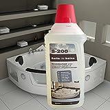 Produit d'entretien nettoyant baignoire balnéo et système hydromassage