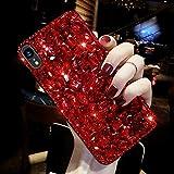 Coque iPhone XR,Surakey Glitter Paillette TPU Silicone Coque Etui de Protection...