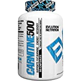 Evlution Nutrition Carnitine500 (60 Serving, 500mg capsules)