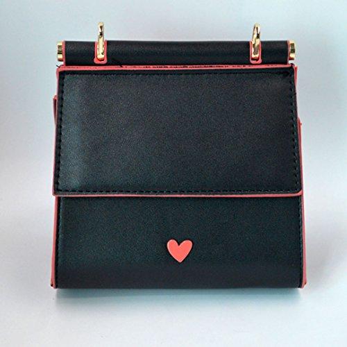 Millya, Borsa a tracolla donna, black (nero) - bb-00372-02 black