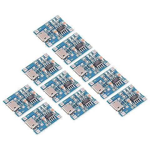 XCSOURCE 10pcs 1A 5V Micro USB TP4056 Lithium Battery Power