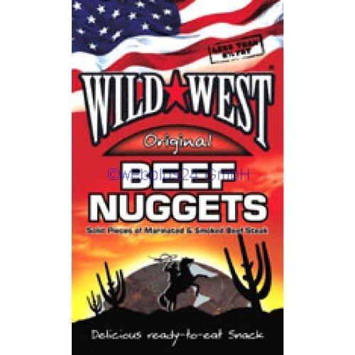 Wild West Beef Nuggets - 12 * 25 Gramm - Original