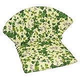 OUTLIV. Polsterauflage Stapelsessel Royal Garden Elegance/Royal Dourdan, Siena Garden Romaneo - Efeu-Design - Niederlehner Stuhlauflage Sesselauflage Sitzauflage Garten