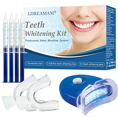 Zahnaufhellung Gel,Teeth Whitening Kit,Professionelle Zahnaufhellung Kit,Gegen Gelbe Zähne,Rauchflecken,Schwarze Zähne - Bleaching-kits