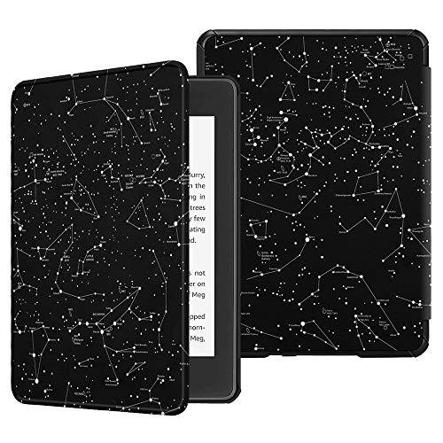 Fintie Hülle für Kindle Paperwhite (10. Generation - 2018) - Die dünnste & leichteste Schutzhülle Tasche mit Auto Sleep/Wake Funktion für Amazon Kindle Paperwhite eReader, Sternbild