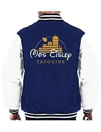 Mos Eisley Tatooine Disney Logo Star Wars Men's Varsity Jacket