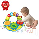 Best Toys For A 6 Month Olds - Baby Toys 6-12 Months Portable Musical Toys Drums Review