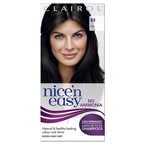 Clairol Nice'n'Easy Hair Colourant by Lasting Colour 83 Natural Black -