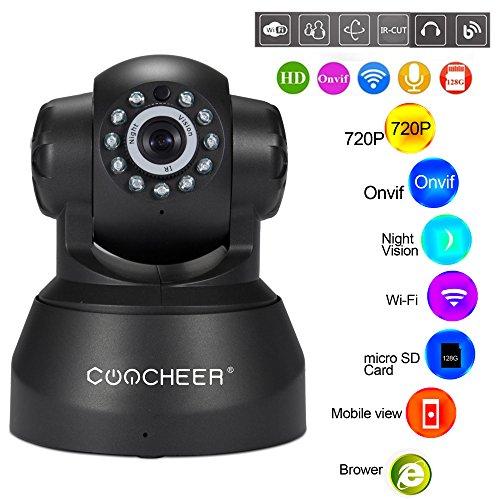 Wlan IP Kamera Indoor 720P HD IP Überwachungskamera IR Infrarot Nachtsicht Sicherheitskamera Bewegungserkennung, 2-Wege Audio mit Baby Monitor,Aufnahme,unterstützt Fernalarm und Mobile App - überwachungskamera Infrarot