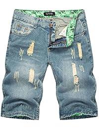 Amazon.es: Pantalones Piratas Hombre - GUOCU: Ropa