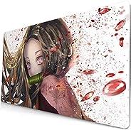 Demon Slayer Mouse pad Anime Grande Desk pad Tastiera Computer pad Tanjirou Zenitsu Nezuko Gaming Mouse pad Ta