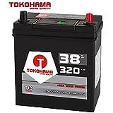 Tokohama Asia Japan Autobatterie 12V 38AH 320A/EN + Plus Pol Rechts Dünnpol 53520 35Ah