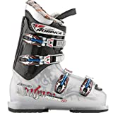 Skischuhe Nordica Hot Rod 60 youth 10/11 transparent silver/black 25.5