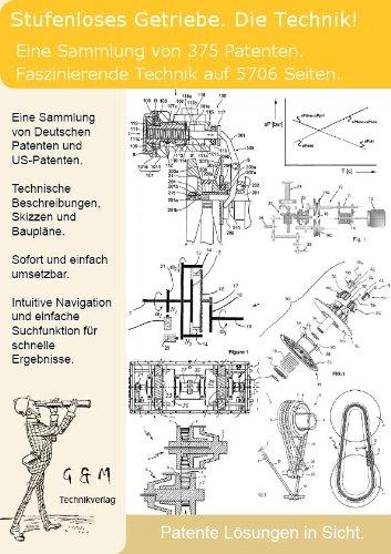 Stufenloses Getriebe Automatikgetriebe - DieTechnik: 375 Patente zeigen alles!