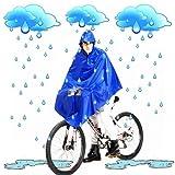 Mantellina poncho impermeabile per bici per ripararsi dalla pioggia e dal vento