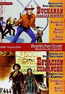 Buchanan Rides Alone (1958) / Comanche Station (1960) - Region Free PAL Double-DVD
