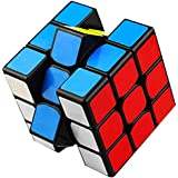 aerialjump H3YZE01 Speed Cube 3x3x3 Magical Toy High Speed 3-D Puzzles Cube(Black)
