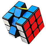 Speed Cube, 3x3x3 Magical Cube Toy High Speed Cube 3-D Puzzles Cube(Black)