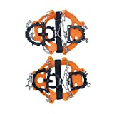 #9: Generic Anti-Slip Shoes Boots Covers Gripper Ice Snow Chain Crampons Cleats