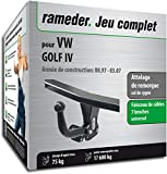 Rameder Attelage démontable avec Outil pour VW Golf IV + Faisceau 7 Broches...