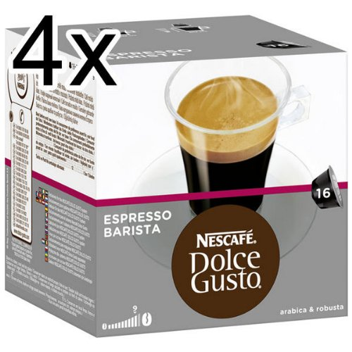 Order Nescafé Dolce Gusto Espresso Barista, Pack of 4, 4 x 16 Capsules from Nestlé
