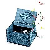 Mano Pura Juego de Tronos clásico Caja de música Mano Caja de música de Madera artesanía de Madera Creativa Mejores Regalos 'Game of Thrones'