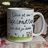 Kaffeebecher ~ Tasse - Glück ist eine Tagesmutter wie dich zu haben ~Weihnachten Geschenk
