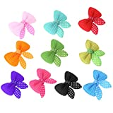 Best Hair Bows - Rrimin 10pcs Pet Hairpin Bow Hair Clips Pet Review