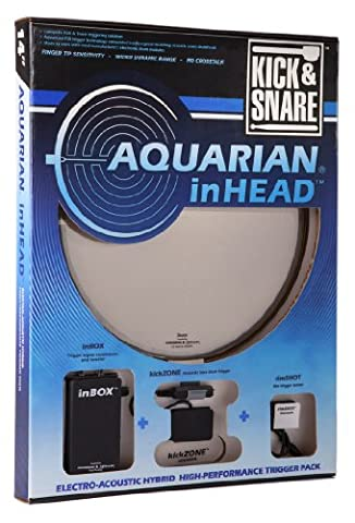 AQUARIAN INHEAD KICK & SNARE 14 Electronic drums Pads - accessories