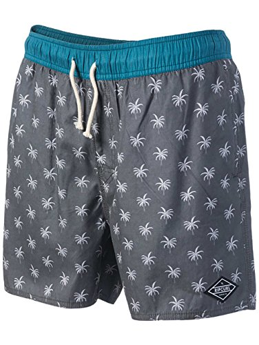 Rip Curl Volley Sea 16in Boardshorts Charcoal