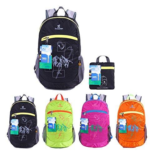 80ccfce223 EGOGO impermeabile pieghevole Packable Escursionismo viaggio zaino scuola  borsa zaino per le ragazze, ragazzi,