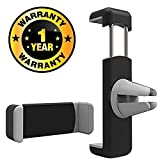 #6: Rhobos Clip AC Vent Car Mobile Holder CarCompatible with Xiaomi, Lenovo, Apple, Samsung, Sony, Oppo, Gionee, Vivo Smartphones (One Year Warranty)