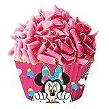 Minnie 339005Pack di 50pirottini Cupcake Carta Rosso 5X 5X 3cm