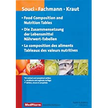 Food Composition and Nutrition Tables, 7th revised and completed edition