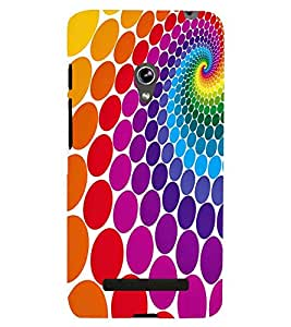 printtech Pattern Back Case Cover for Asus Zenfone 5::Asus Zenfone 5 A500CG