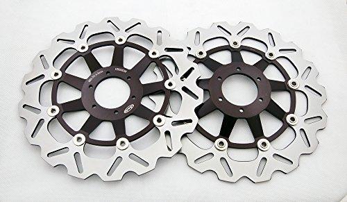 areyourshop Rotore freno a disco anteriore per Honda CBR1100X X 99-04X undici 11002000-2003CB 12842001-2002