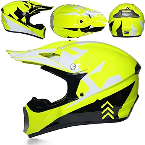 Berrd Professioneller Moped ATV-Helm Offroad-Helm Offroad-Motorrad-Offroad-Helm Mountainbike-Rennhelm Cross 15 m