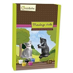 Avenue Mandarine - JO4053  - Boite creative moulage chats 16x23x5 cm (8)