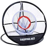 liqiwi Golf Chipping Net, portátil al aire libre práctica formación Hitting Red