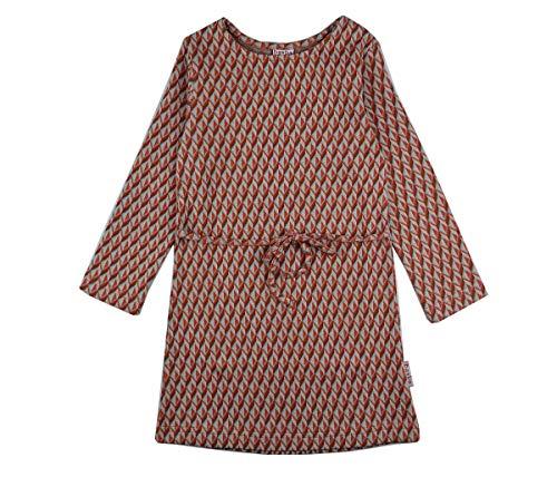 Baba Girl Dress Langarm Cubes