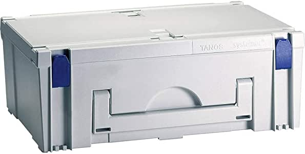 L x l x h s 596 x 396 x 210 mm 1 pc Bo/îte /à outils vide Tanos MAXI-systainer III 80000014 ABS plastique