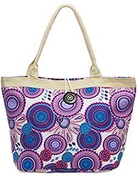 CASPAR TS1032 Joli sac de plage ou de shopping grand format aux couleurs estivales