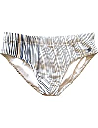 Fendi costume da bagno slip uomo FXB052 T6P F0UB0 TG.48 bianco blu 67585d6df5d3