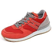 Hogan C7460 Sneaker Uomo Rebel R261 Rosso Grigio Shoe Man 4253ac0b10b