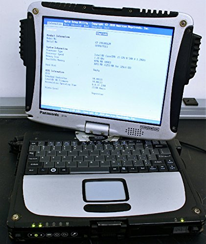 """NOTEBOOK 10.2"""" PANASONIC TOUGHBOOK CF-19 2GB WIN7 PC/TABLET TOUCH MILITARE (CF-19 2GB)"""