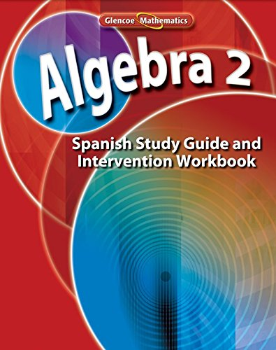 Algebra 2 Study Guide and Intervention Workbook por McGraw-Hill